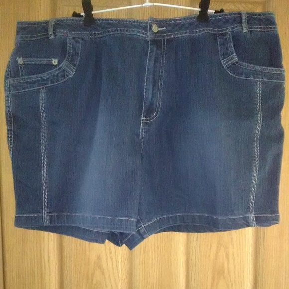 cf7b704880 Just My Size Shorts | Jms Stretch 5pocket Denim Euc | Poshmark
